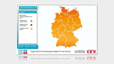 Interaktive Deutschlandkarte